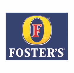 Foster's Lager Full Color Logo Equity