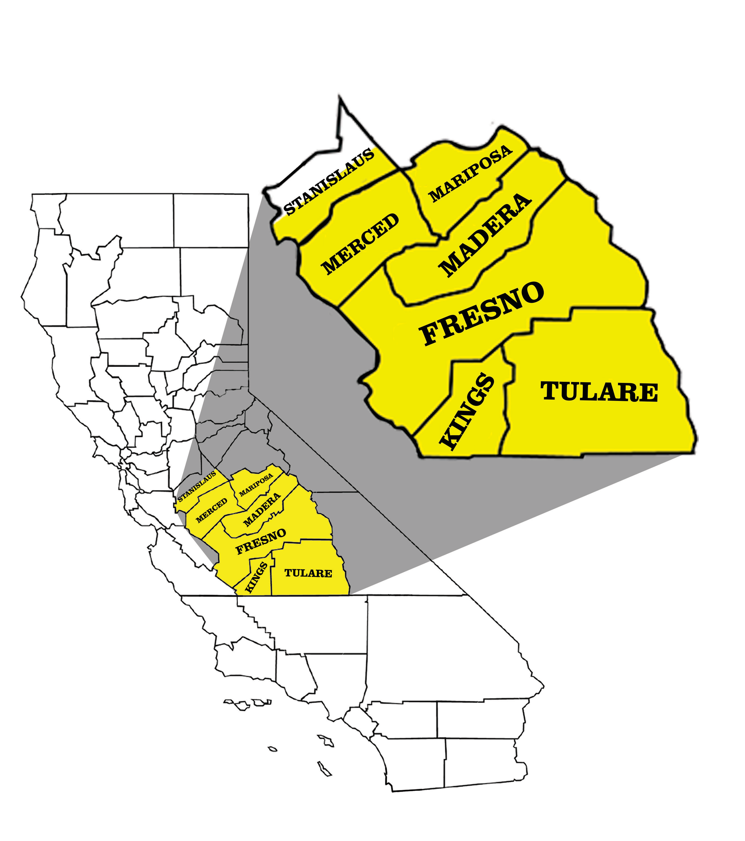 ca_map_counties (Full State & Blown Up Terriitory Map)1