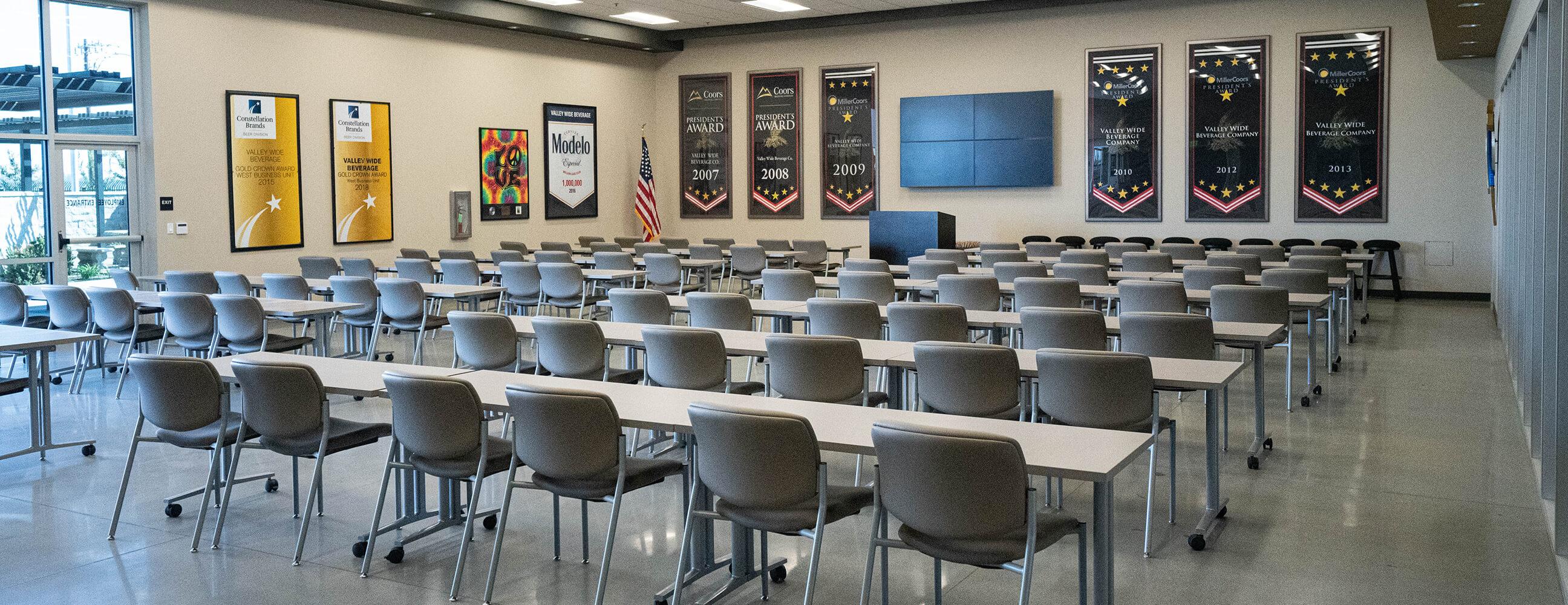 Valley Wide Beverage large conference room